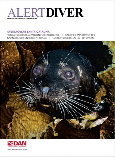 Cover of the Alert Diver Second Quarter 2020 issue