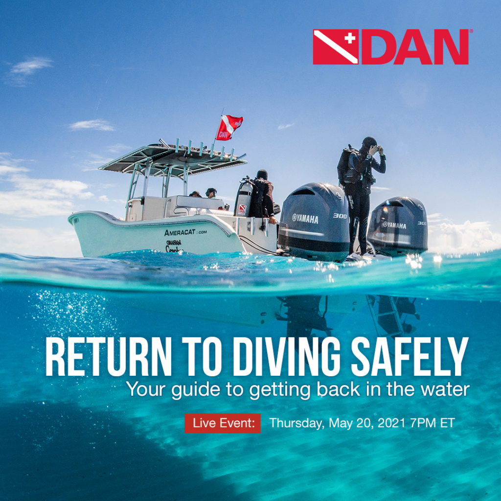 DAN Return To Dive Safely Webinar