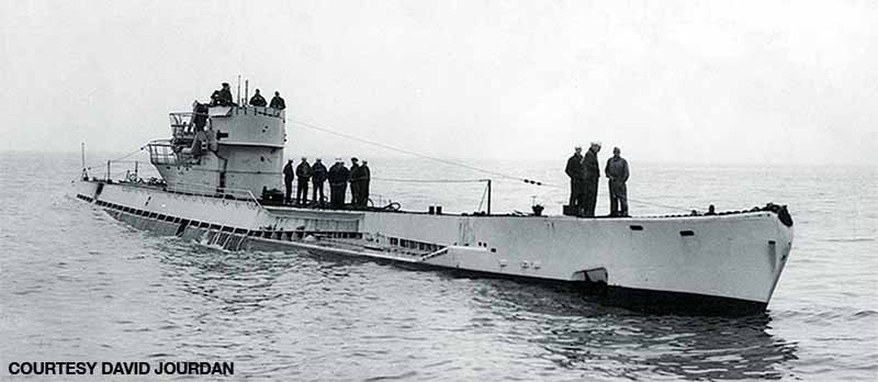 The German submarine U-530 rendezvoused with the I-52.