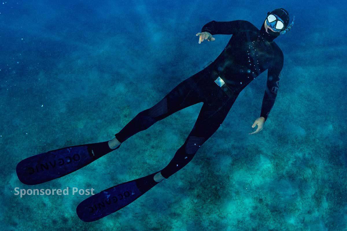 sponsored post - Oceanic World Predator Line of Freedive Equipment